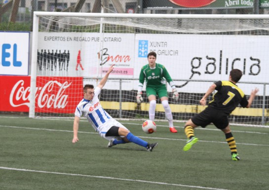 Otro paso atrás del Juvenil Nacional que pudo con el Residencia lucense, que era asequible a priori,..., y menos mal que con 0-2 en la segunda mitad Fran y Fontán lograron el mal menor de la igualada: 2-2 al final.